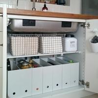 使える技がたくさん♪参考にしたいキッチン『シンク下』の収納アイデア集