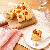 塩味のケークサレはお弁当にも♪手軽な「おかずケーキ」をレギュラーメニューにしよう