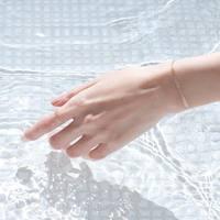 手首や足首にさりげない大人の色気。箔と水のアクセサリー「HAQUA」を纏おう♪