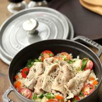 今夜は、洋風ご飯♪フライパン以外に炊飯器やストウブで「ピラフ」レシピ
