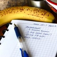 身体も心も、自分としっかり向き合いたい。「食べたもの日記」を試してみては?