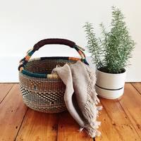 編み手の真心が人を繋ぐ。「アラフィア(Alaffia)」のバスケットを暮らしに