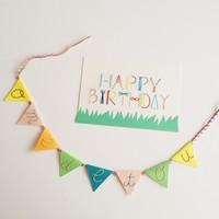 思いをこめて♪ ちくちく楽しい『紙刺繍』をはじめてみませんか?