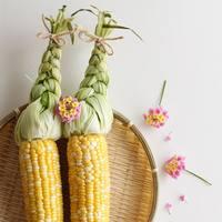 Instagramで大人気♡チンして編むだけ♪「三つ編みトウモロコシ」の作り方とアレンジレシピ