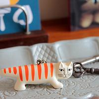 シマシマ模様を、生活のあちこちに。リサラーソン《猫のマイキー》がやっぱり大好き♪