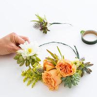 DIYだってできちゃう。多肉植物やフルーツで彩る、夏の「花かんむり」が素敵だよ♪