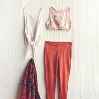 海外スナップから学ぶ『ヨガ』のお手本ファッションコーディネート