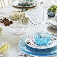 ガラス、和食器、竹に錫。夏の『簡単・涼やかテーブルコーディネート』とおすすめアイテム