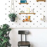 おしゃれで機能的!有孔ボード(ペグボード)を使って、壁面収納をもっと楽しく♪