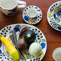 いつもの食卓を特別に彩る。アラビア【パラティッシ】の魅力とプロの料理家の使い方