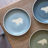 素敵にかわいい動物柄のお皿も♪「苔色工房」の、にっこりしちゃう器たち