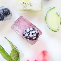 フルーツをぎゅと閉じこめて。おしゃれなアイスキューブでおもてなしに華を添えよう