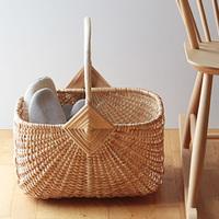 床に、椅子に賢くかご収納。ラトビアの伝統工芸「リガ」のハンドメイドバスケット