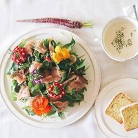 華やかな食卓にうきうき♪お料理に【エディブルフラワー】を使ってみよう!