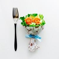 誕生日やホームパーティーで喜ばれる♪「ブーケサラダ」の作り方・ラッピングアイデア集