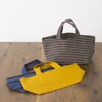 """伝統的な""""会津木綿""""を、もっと身近に現代風に。「HARAPPA(はらっぱ)」のバッグ・ストール"""