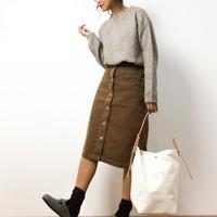 好みのスカートはどれ?かたちや素材を選んで叶う、自分に似合うスカートを探そう