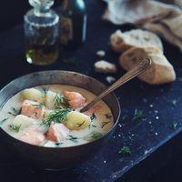 コトコト煮込んだ、ほっこりスープ。寒い夜は【北欧レシピのスープ】であたたまろう