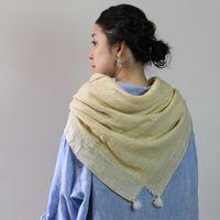 自由に使い、自由に楽しむ。「COOVA(コーバ)」のストールと暮らしの布