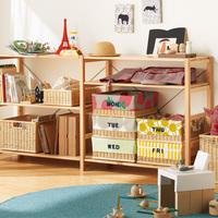 インテリアに馴染む!子どもが片付けやすい!【無印・イケア・DIY】おもちゃ収納アイディア