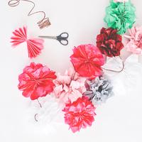 ラッピングやインテリアに…紙でつくるリアルなお花はいかが?【ペーパーフラワー】の作り方