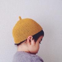 子どもにかぶせたい♪ちょこんと可愛い「どんぐり帽子」の編み方・コーデ