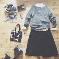 秋冬コーディネートの定番アイテム「ニット」をどうあなたらしく着る?