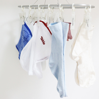 裏技教えちゃいます。【衣類別】洗濯物を早く乾かす上手な干し方♪