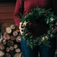 【小さなスペース用も♪】自然素材で作るナチュラルな『クリスマスデコレーション』アイデア集