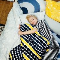 ベッドカバーで簡単模様替え♪北欧風や無印で、おしゃれでかわいい寝室に