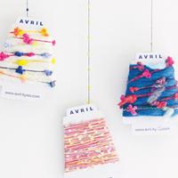 編み物ができなくても楽しめちゃう♪ 「AVRIL(アヴリル)」の糸あそび