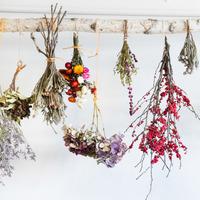 冬の暮らしに花を。落ち着いた色味が季節に似合う、ドライフラワーの魅力と作り方