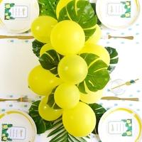 たまらなく可愛い!パーティーの飾り付けに「フルーツ(果物)バルーン」を作ろう♪
