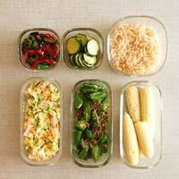 常備菜には欠かせません。素材別の特徴を知って選ぶ「マイ・ベスト・保存容器」