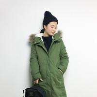 冬のミリタリーファッションの定番アウター『モッズコート』のコーディネート集