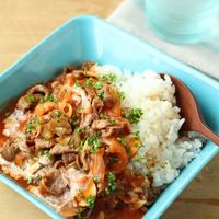 洗い物も楽チン♪パパッとつくれる、簡単《カフェ風丼》レシピ【15選】