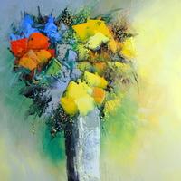 幻想的な時空を旅する画家「マニュエル・リュバロ」の幸せ色に輝くアートな世界