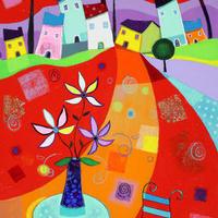 花と音楽が踊り出す♪色彩のオーケストラ「ピエルマテオ」の幸せ色に輝くアートな世界