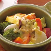 冬は体を温めて…ホットサラダで体に優しく野菜を