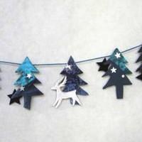 ツリーだけじゃなくて、お部屋全体を。クリスマスをガーランドで彩ってみない?