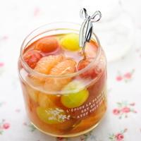 瓶に入った姿も可愛い♪旬の果物を使った「自家製シロップ」の作り方・アレンジレシピ