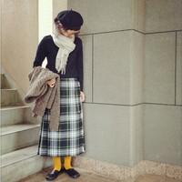 秋冬のマストアイテム!「オニールオブダブリン」のスカートでつくる素敵なコーディネート