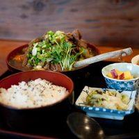 ♪ジビエ・山菜・きのこ♪ 山梨の「仙人小屋」で新鮮地物を頂こう!
