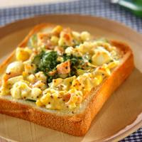 卵、シナモン、チーズにハム…♪毎朝困らない「トーストアイデア」レシピ