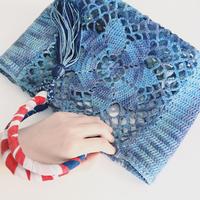 """さらさら心地いい""""エコアンダリヤ""""で作る、夏のおしゃれ編み物特集"""