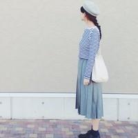 一気に上品、秋の装い♪「プリーツスカート」のコーディネート集