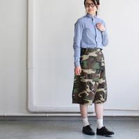 カーキ色を着こなす感覚で♪「迷彩柄(カモフラ柄)スカート」のカジュアルコーディネート集