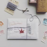 """便箋のほか、プレゼントやカードを入れても。""""封筒""""をもっと楽しく使いこなそう!"""