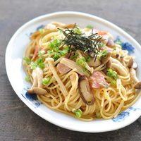 ほっとする味。定番から春にぴったりのレシピまで♪【和風パスタ】を作ってみよう!