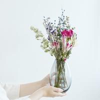 花器にドライフラワーを添えて。 日々に寄り添う母の日の贈りもの 【SUU×ex.コラボレーション企画】